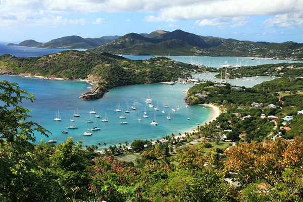 Aerial View of Antigua | The Caribbean | Be Inspired | Howard Travel