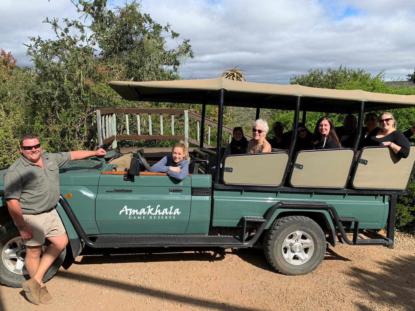 Day 1 Amak Game Reserve