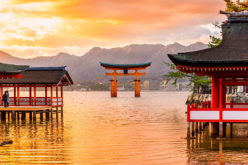 Floating Gate, Japan. Top Holiday Destinations for 2019