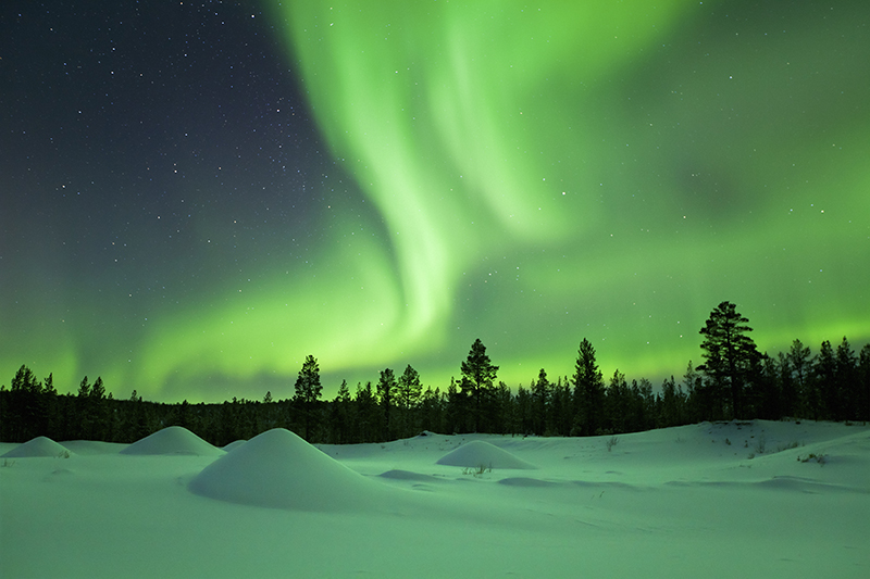 Northern Lights | Top 5 Christmas Holiday Ideas | Howard Travel