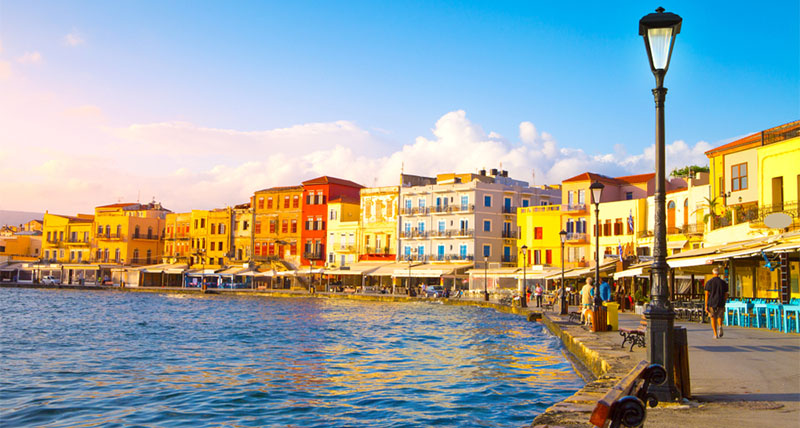 Old port of Chania, Crete