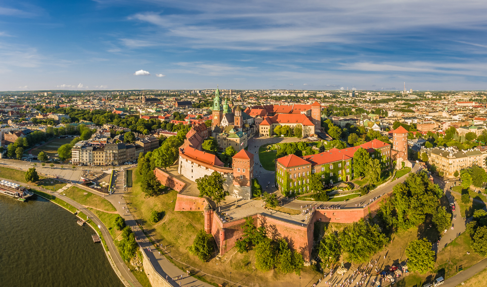 Wawel Castle, Poland. Top Holiday Destinations for 2019