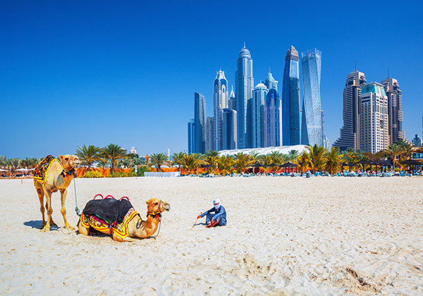 Jumeriah Beach, Dubai | Middle East | Be Inspired | Howard Travel