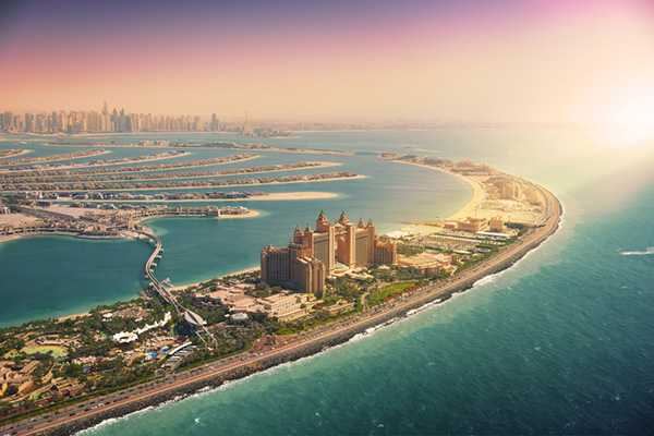 Palm Island, Dubai | Middle East | Be Inspired | Howard Travel