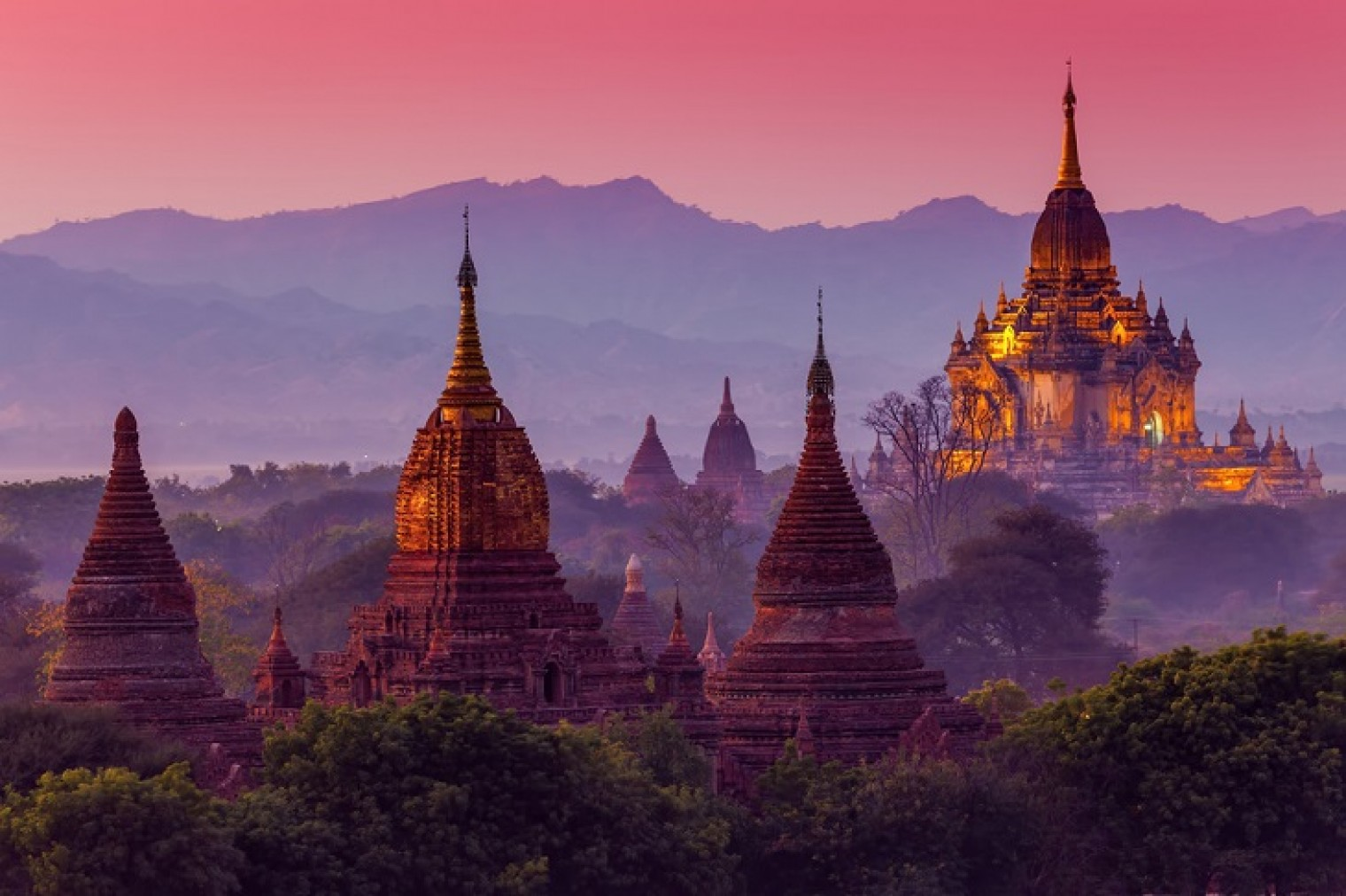 Must-sees in Myanmar